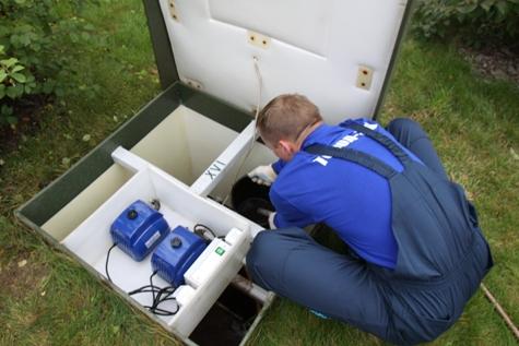 Обслуживание автономной канализации Топас в Екатеринбурге и области